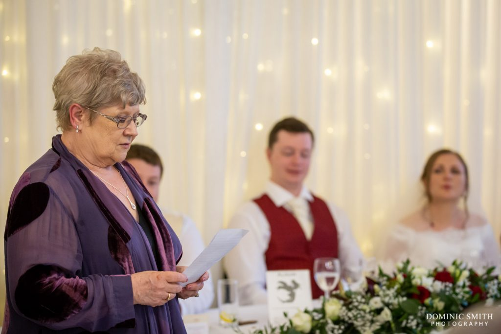 Mother of the Bride Speech at Highley Manor