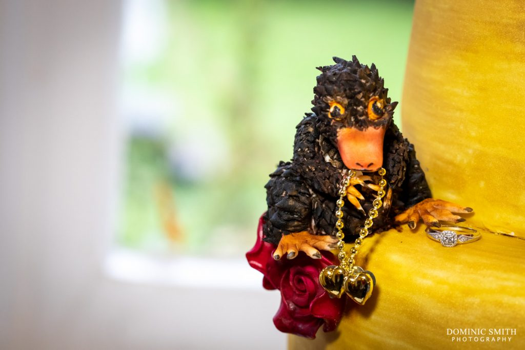 Niffler with Engagement Ring