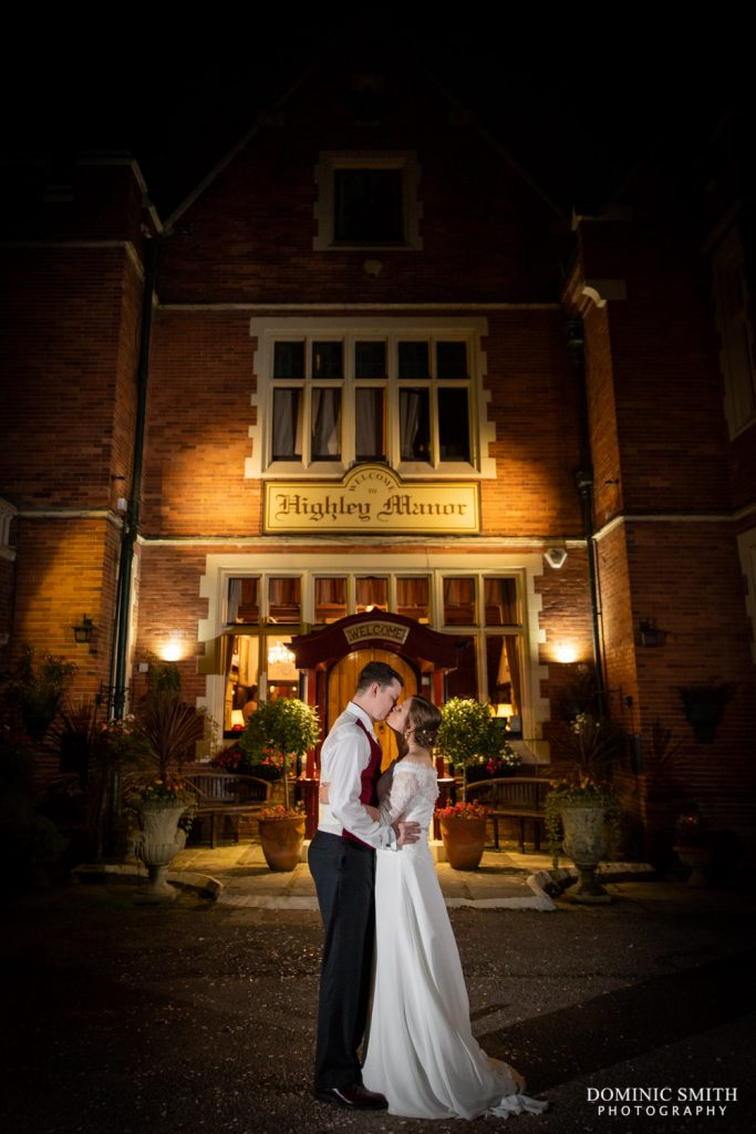 Night Photo at Highley Manor