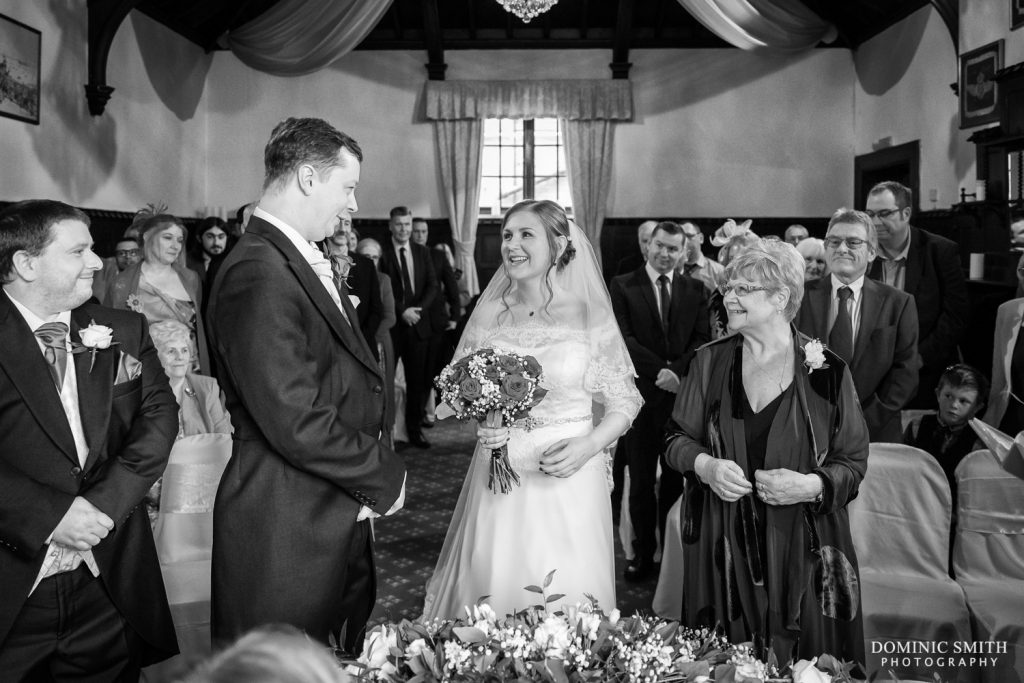 Wedding Ceremony at Highley Manor 1