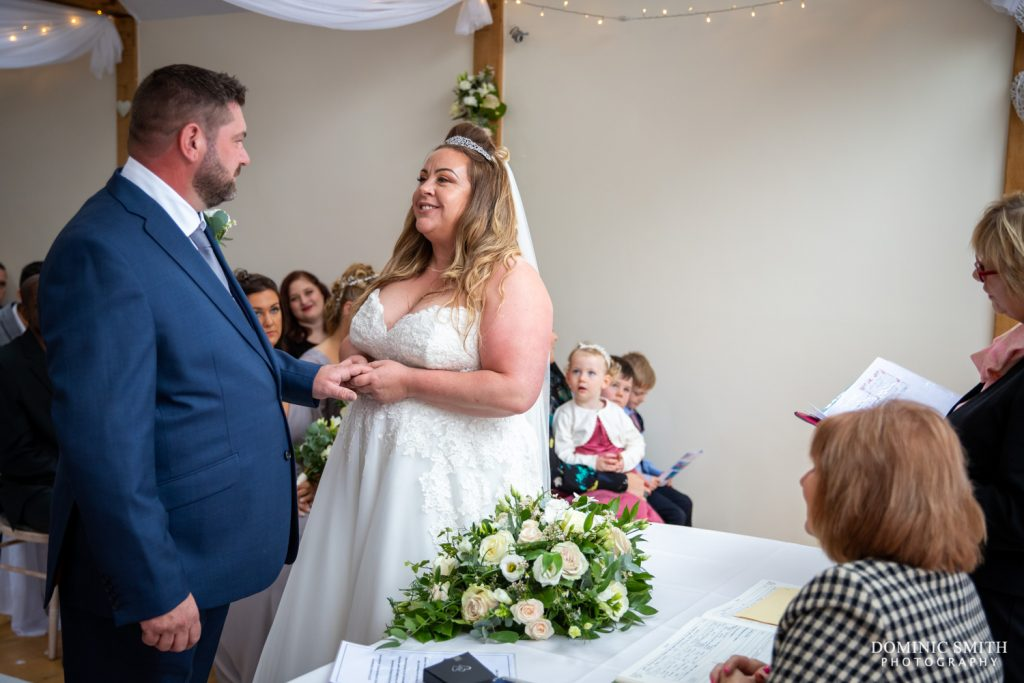 Wedding Ceremony at Random Hall 1