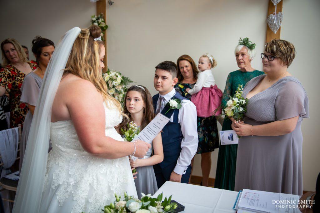 Wedding Ceremony at Random Hall 2