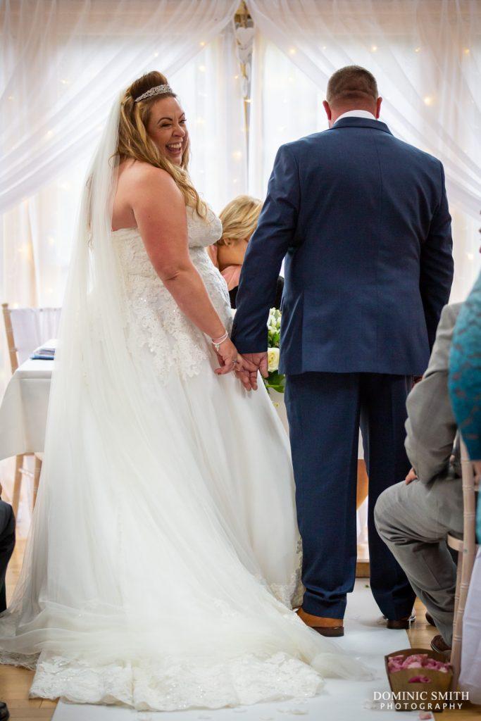 Wedding Ceremony at Random Hall 5