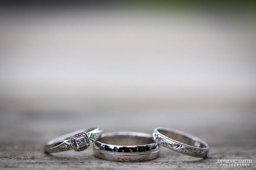 Wedding Ring Detail Photo at Highley Manor
