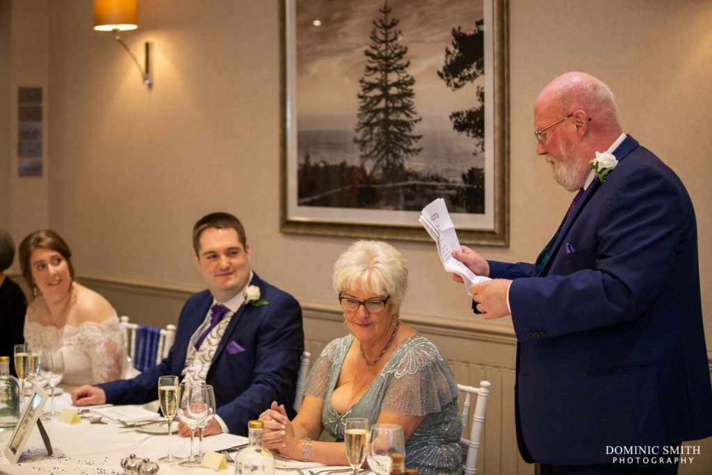 Father of the Bride Speech at Hartsfield Manor