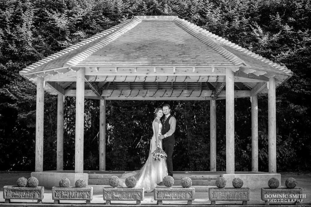 Couple Photo at Stanhill Court Hotel Amphitheatre