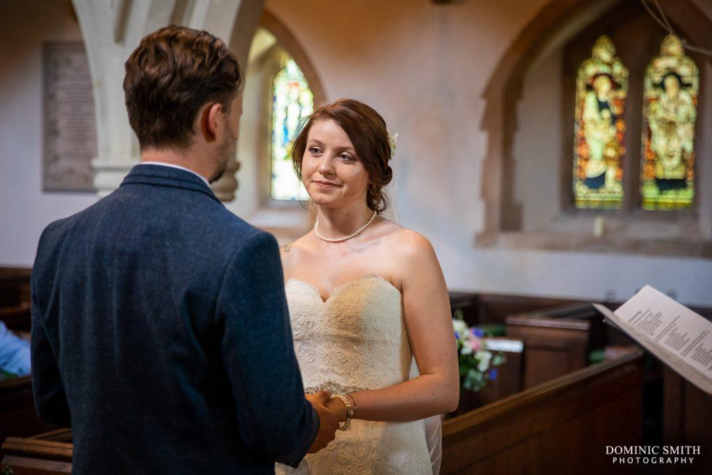Wedding Ceremony at St Mary Magdalene C of E Church in Rusper