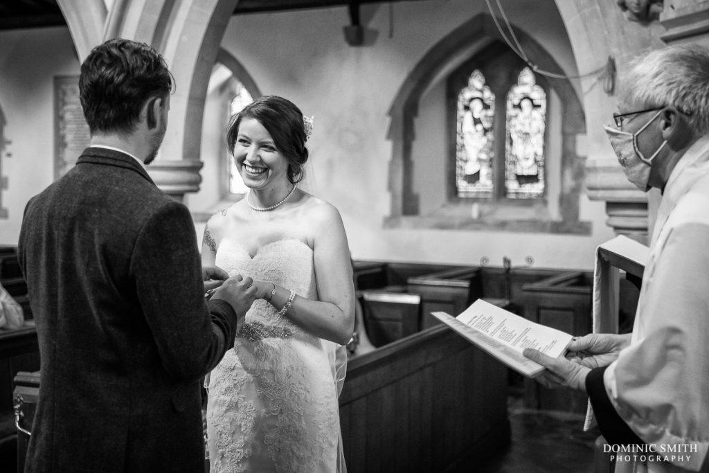 Wedding Ceremony at St Mary Magdalene C of E Church in Rusper 2