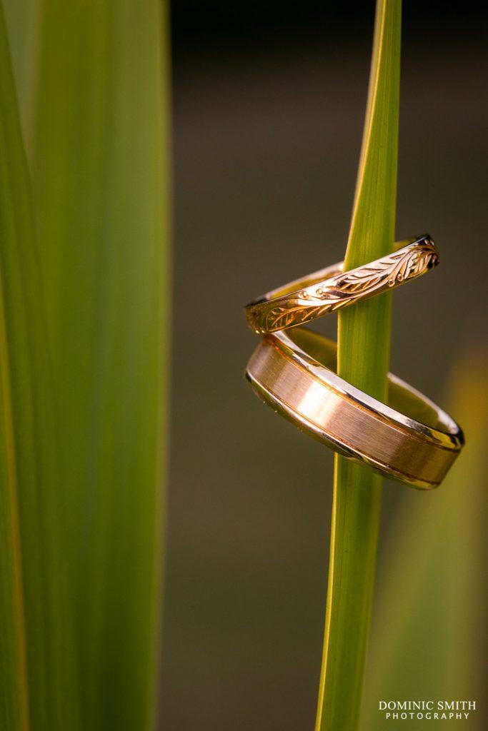 Wedding Ring Photo Taken At Stanhill Court Hotel
