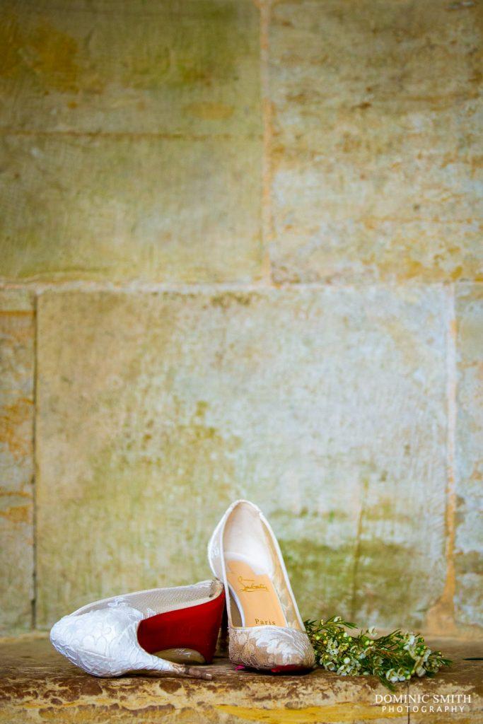 Louboutin Wedding Shoes at Nymans