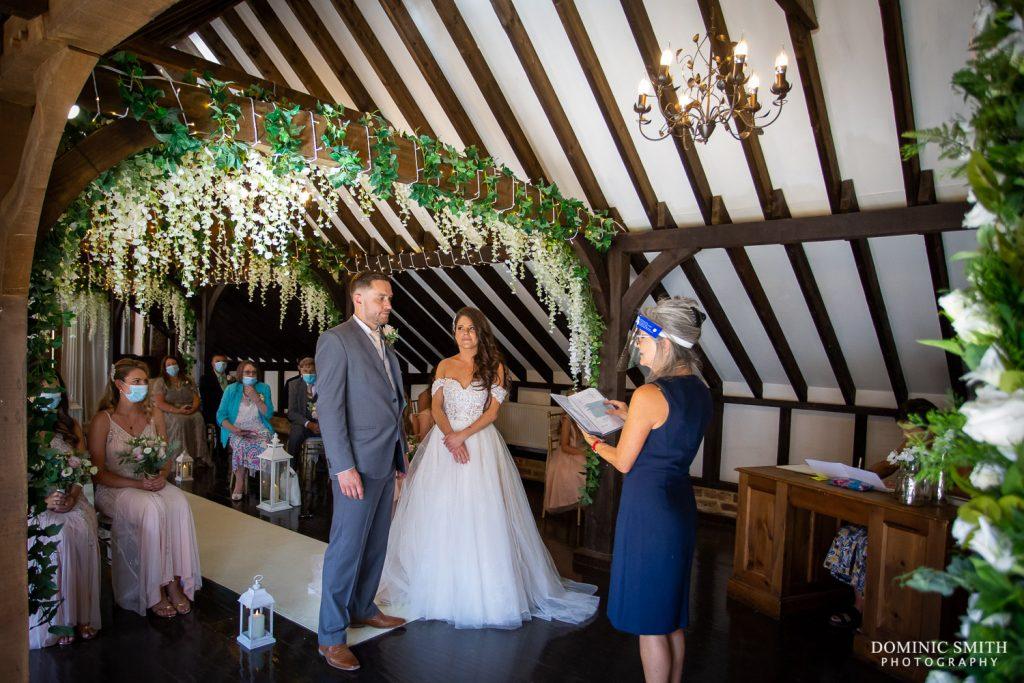 Wedding Ceremony at Blackstock Country Estate