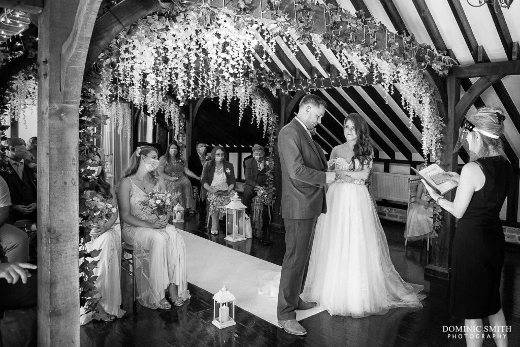 Wedding Ceremony at Blackstock Country Estate 2