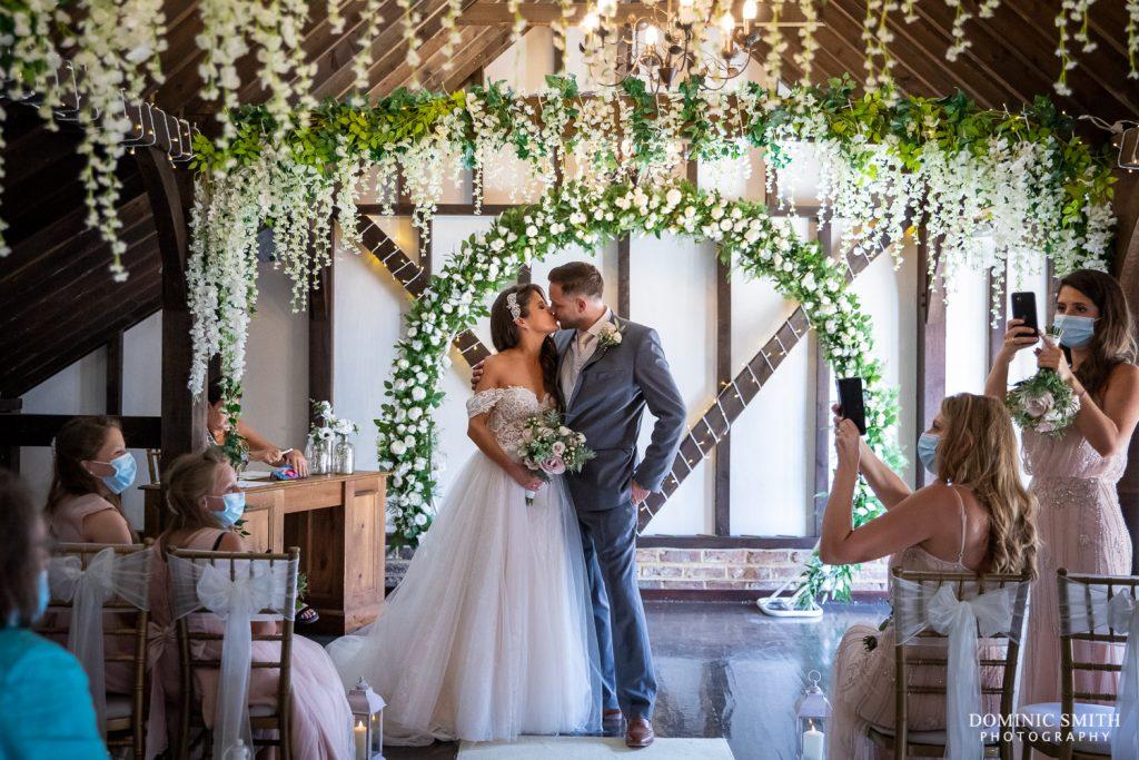 Wedding Ceremony at Blackstock Country Estate 4