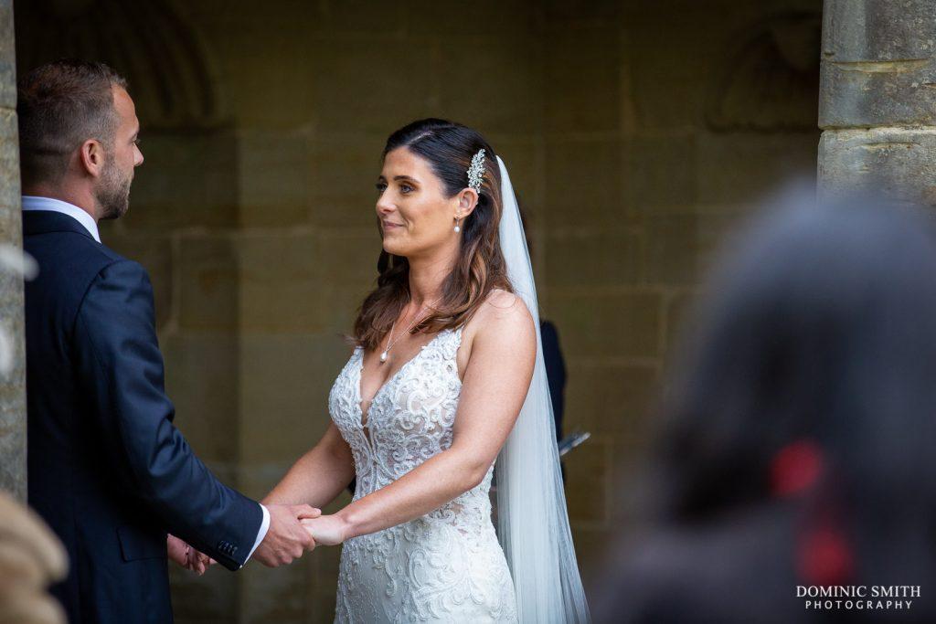 Wedding Ceremony at Nymans