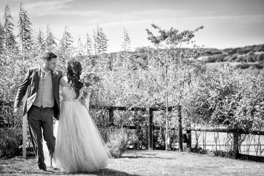 Wedding Couple Photo at Blackstock Country Estate 2