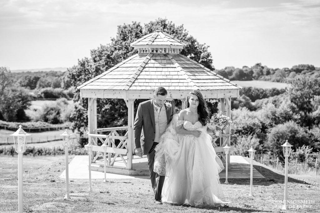 Wedding Couple Photo at Blackstock Country Estate 4