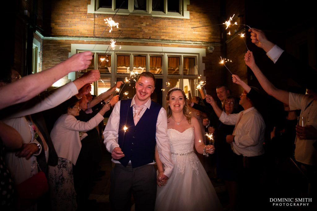 Sparkler Photo at Highley Manor