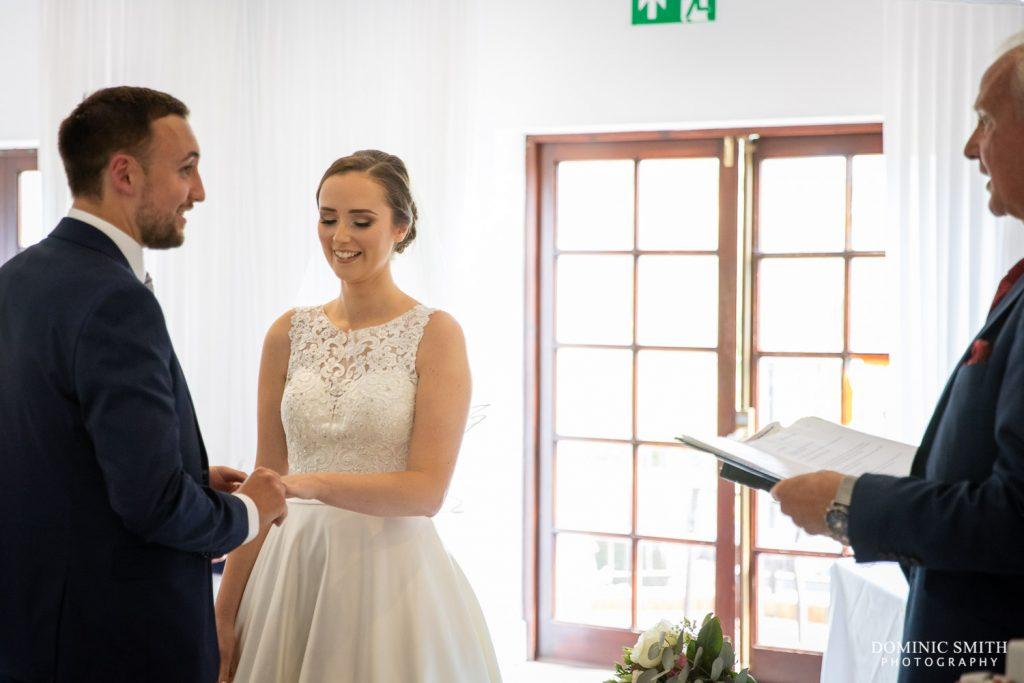 Wedding Ceremony at Reigate Hill Golf Club 1