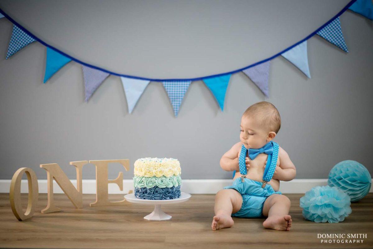 First Birthday Cake Smash 2