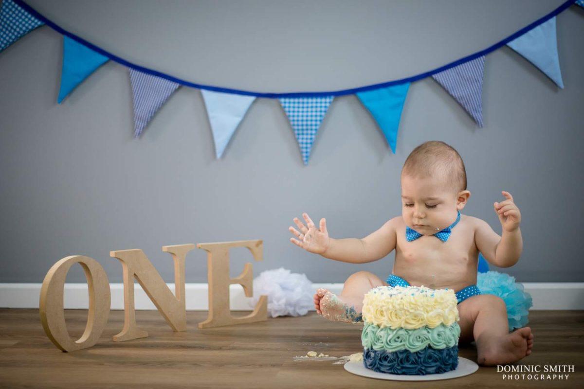 First Birthday Cake Smash 3