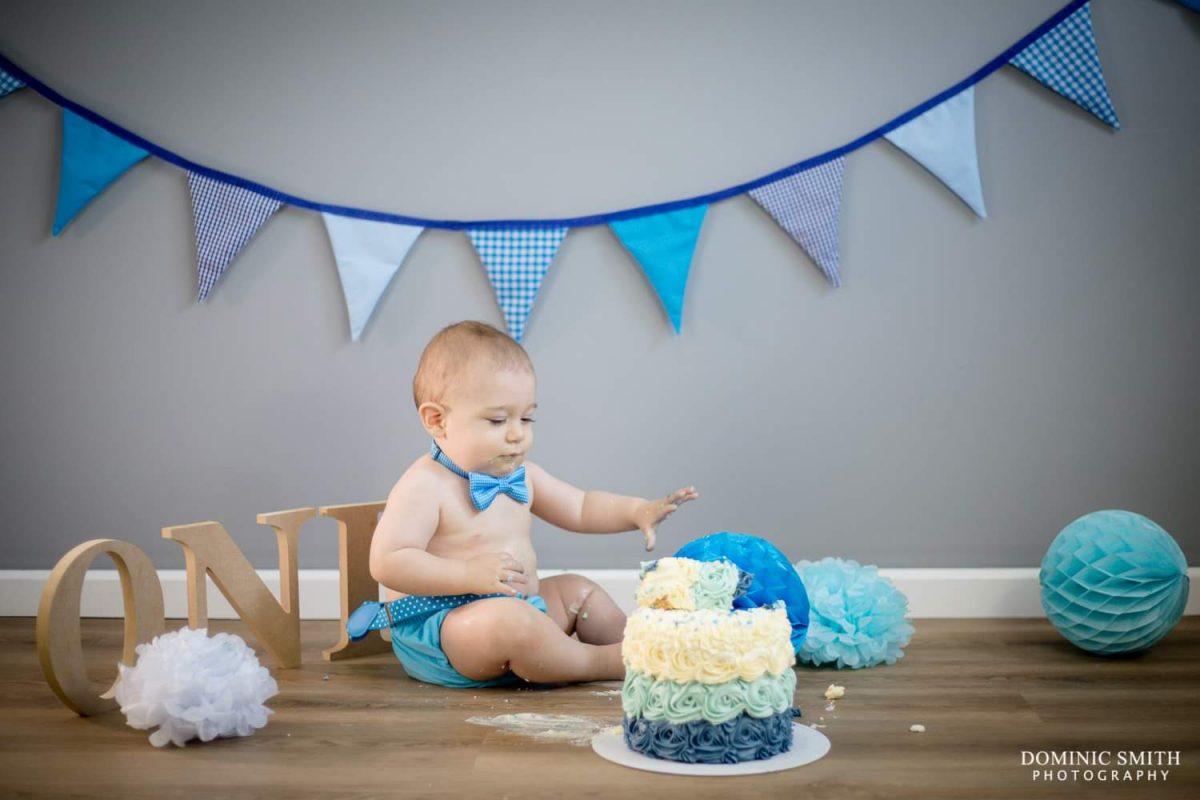 First Birthday Cake Smash 6