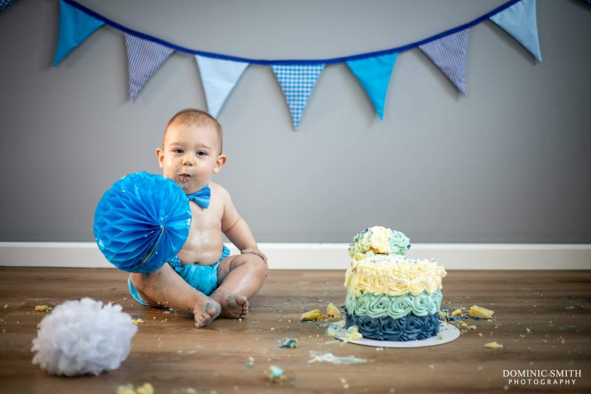 First Birthday Cake Smash 8