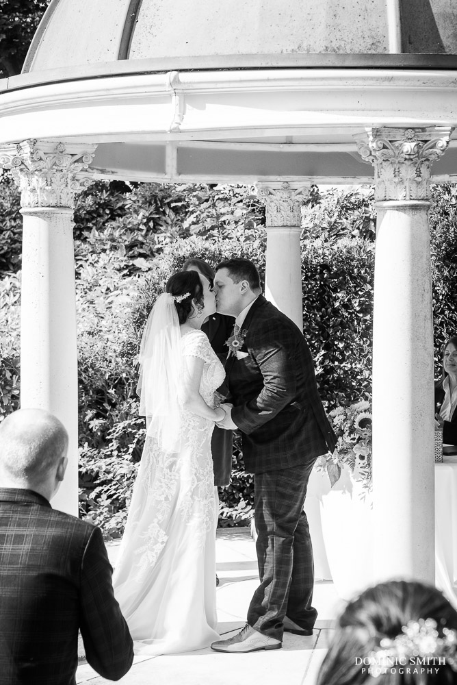 First Kiss at Little Hermitage