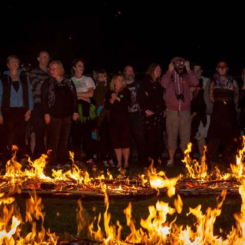 Raystede Charity Firewalk