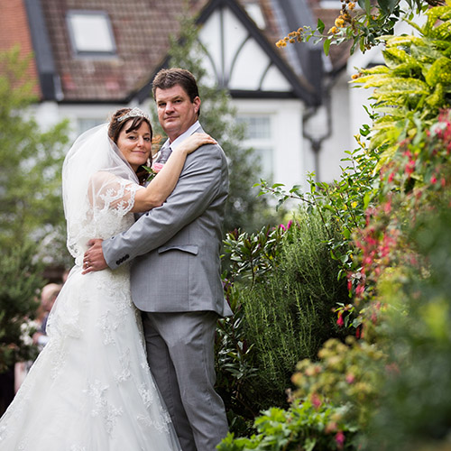 Wedding of Donna and Eddie at The Hickstead Hotel, Sussex