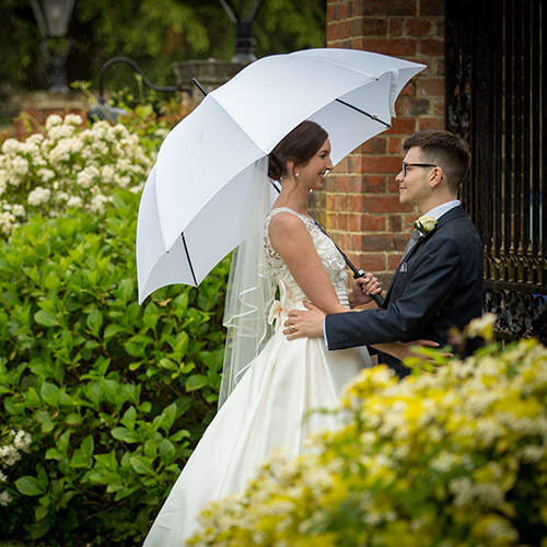 Wedding of Sarah and Adam at Goodwood Hotel