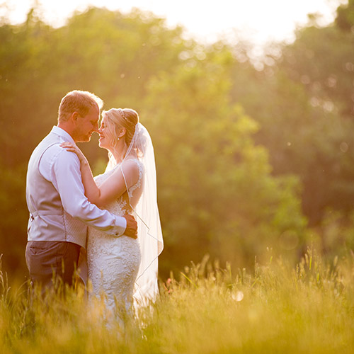 Wedding of Claire and Jamie at Highley Manor