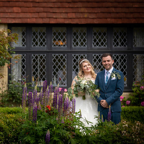 Wedding of Nirvana and Patrick at Smallfield Place, Sussex