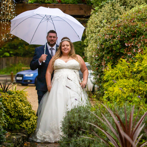 Wedding of Vic and Damian at Random Hall, Sussex
